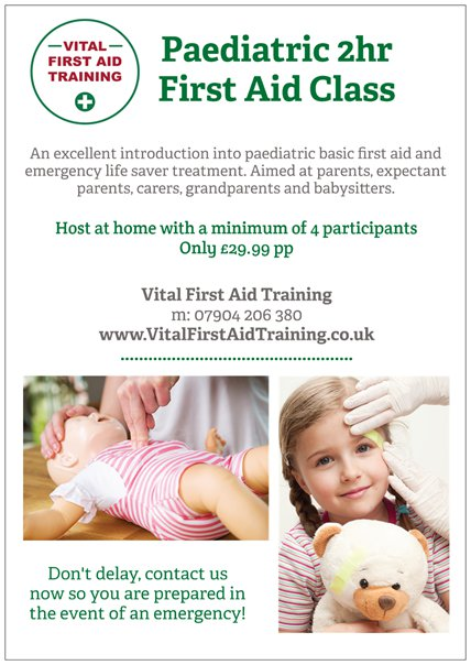 vital first aid training pfoa
