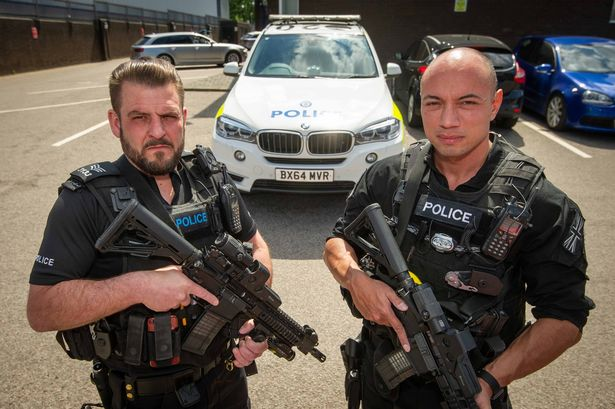 Machete attacks and gunmen - the reality of life on the front line with a police firearms unit