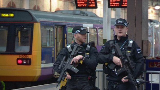 Armed transport police for Manchester and Birmingham