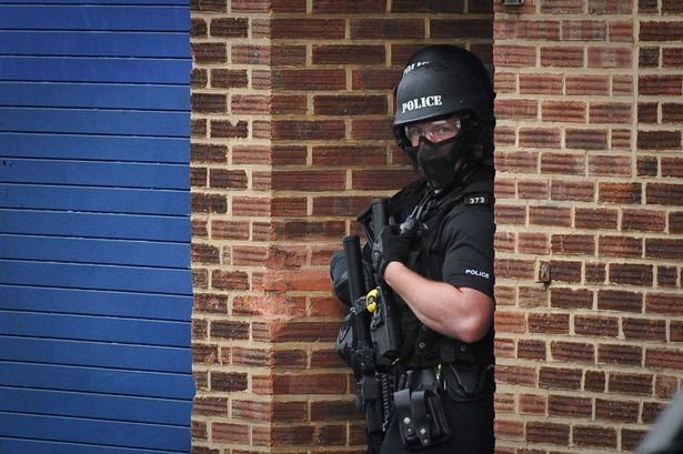 West Midlands Police are deploying firearms to 60% more incidents compared to last year.