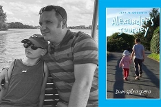 Police Officer has written a book about his family's fight to save his  10 year old son from cancer