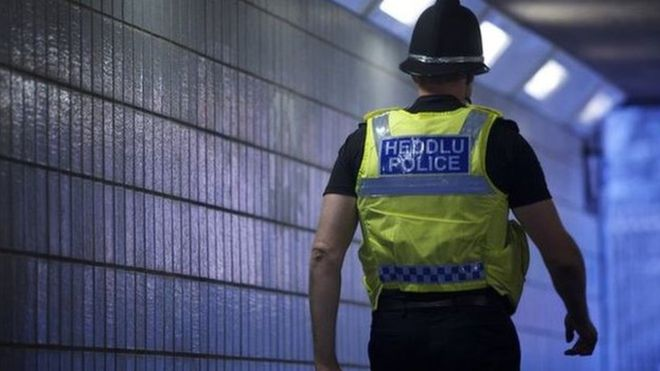 Police officers signed off with stress up 130% in Wales