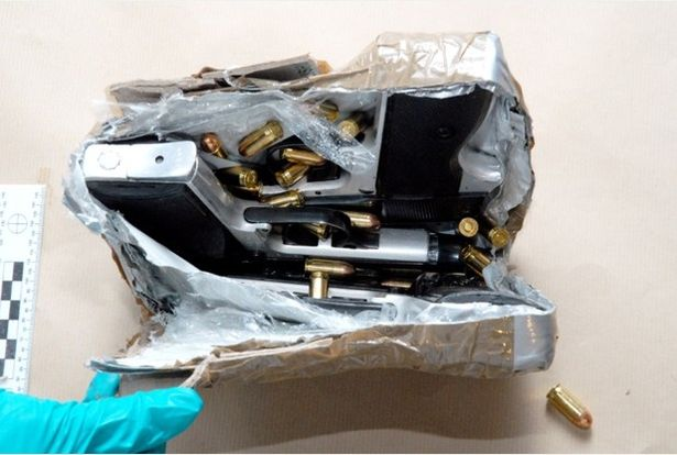 police smashed crime gang's bid to smuggle guns