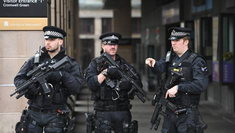 British armed cops 'best trained and most restrained in the world'