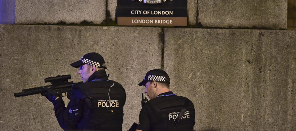 London Bridge terror: Seven killed in van and knife attack, three attackers shot dead