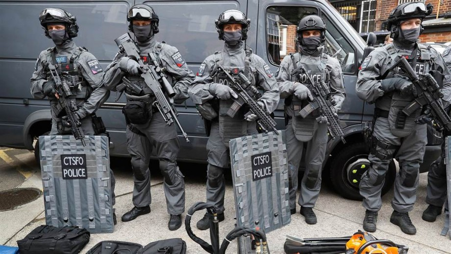 Terror threat: UK upgrades armed police response