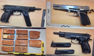 Guns seized as 12 arrested in cross-channel investigation