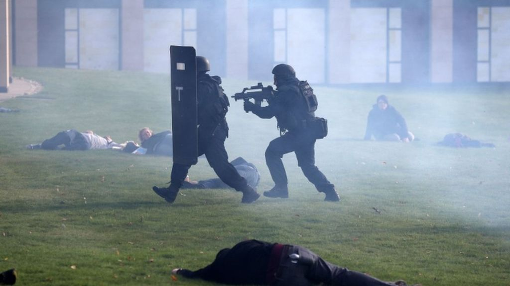 Mock terror attack staged in Scotland to test emergency services