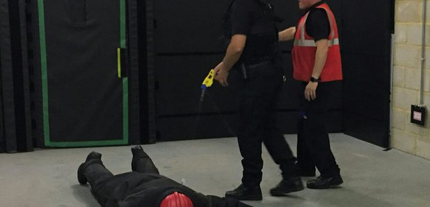 Major new roll-out of Taser across Northamptonshire Police's frontline officers