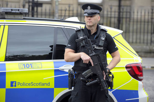 Police Scotland Armed Response Vehicle 1162213