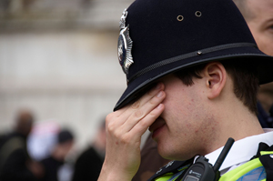 80% of police officers suffer from depression or anxiety