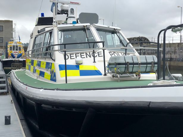 The little-known police of the sea who keep Plymouth's naval base safe