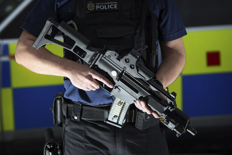 Survey show police officers prepared to be armed