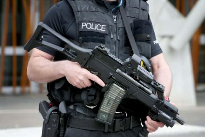 "Armed police deployed across South Yorkshire after ""explosion of violent crime"" and threat of terrorism"