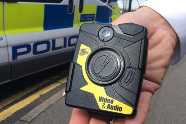 Police body cameras 'reduce the need to fire Taser'