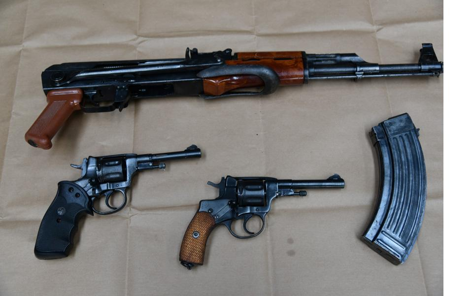 Joint Operation Nets Firearms Haul