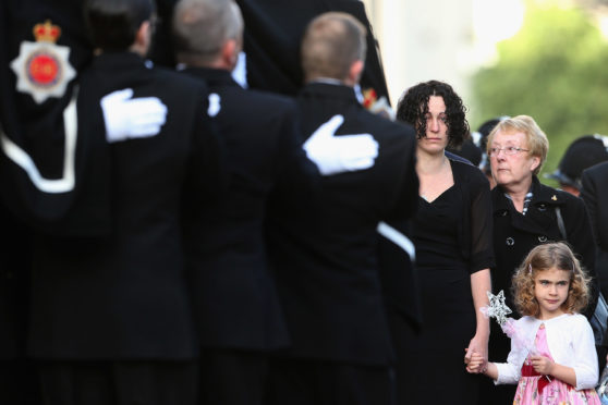 Father of fallen officer PC Fiona Bone salutes her bravery and reveals the true cost of duty