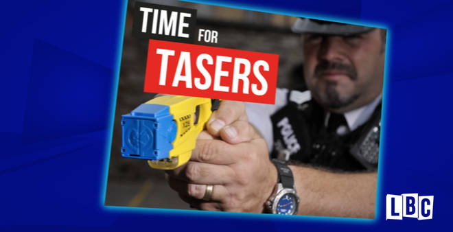 PUBLIC OVERWHELMINGLY BACK CALL FOR ALL POLICE TO CARRY TASERS