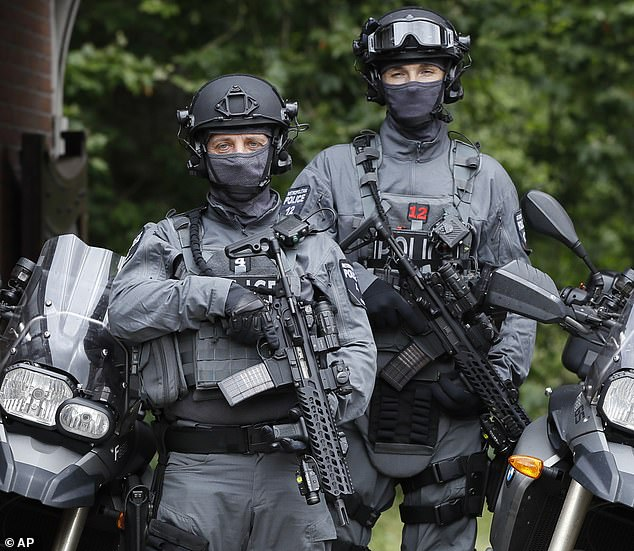 Revealed: Test's show new body armour may NOT save the lives of Britain's elite soldiers and police firearms officers