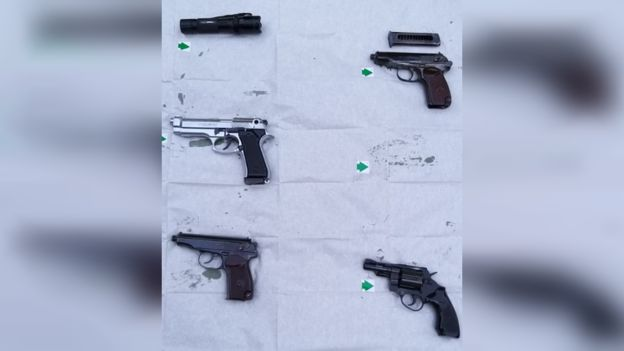 Drug Dealer Hid Guns In Peterborough Garden