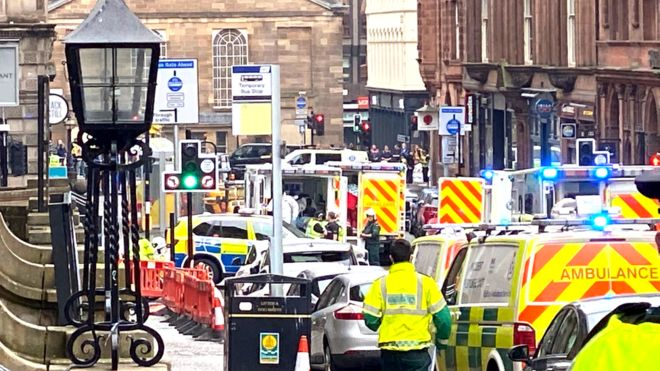 Several people are believed to have been killed in an incident in Glasgow