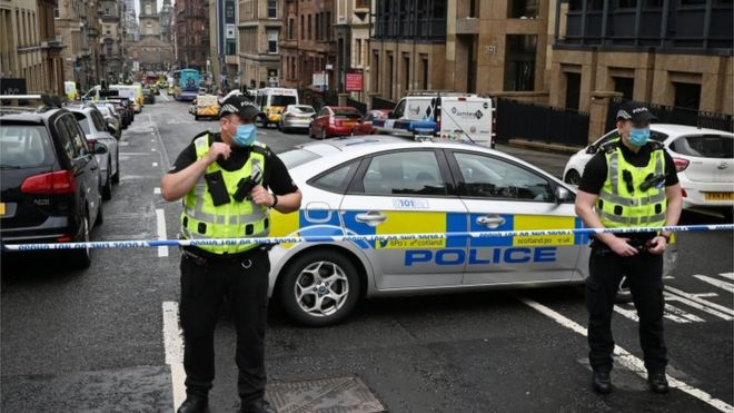 Police chief: Glasgow stabbing officers faced 'traumatic' scene