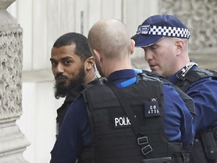 Westminster terror alert: Man arrested by Armed Officers